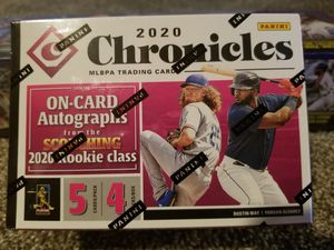 2020 Chronicle Baseball 2 Blaster Boxes for Sale in Parma, OH