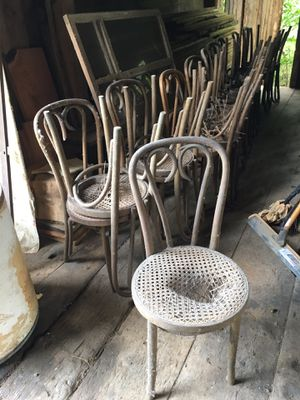 Bentwood chairs, 19, some repair needed, for Sale in Ithaca, NY