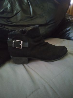Size 7 no parking black heel boots for Sale in Geneseo, KS