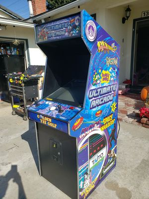 Ultimate arcade excellent condition dedicated works great has 100 original games free delivery for Sale in Huntington Beach, CA