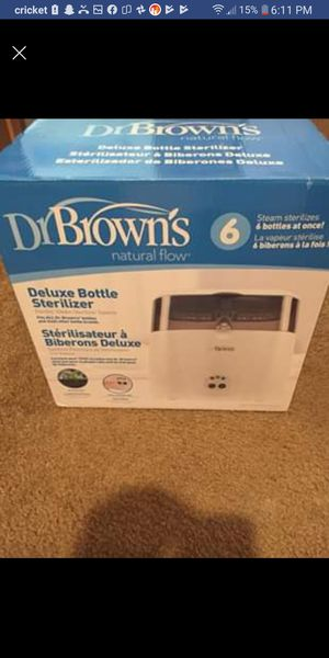 Dr brown bottle sterilizer for Sale in Greenville, OH