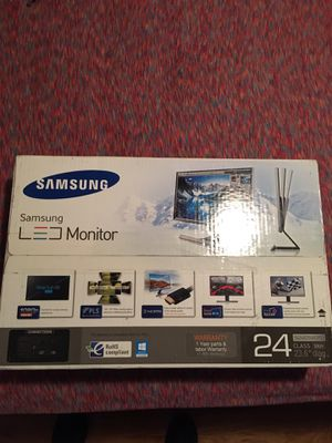 Samsung S24D590PL 24 inch LED computer monitor for Sale in St. Petersburg, FL