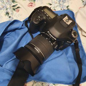 canon eos 80d dslr camera for Sale in Fairfax, VA