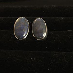 925 Lapis Earrings for Sale in Glen Burnie, MD