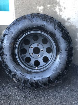 Jeep wheels/tires for Sale in Revere, MA