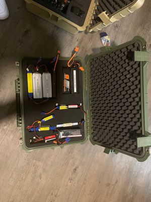 DX8 Batteries and Controller for Airplane for Sale in Belvedere Park, GA
