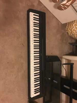 Yamaha P45 keyboard with stand for Sale in Richmond Hill, GA