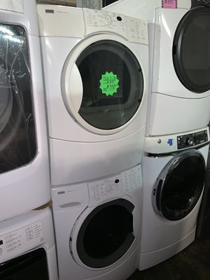 SALE❗️Kenmore front load washer and electric dryer set in excellent conditions with 4 months warranty for Sale in Baltimore, MD
