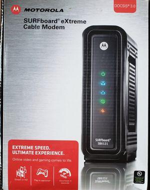 Motorola SURFboard eXtreme Cable Modem SB6121 for Sale in East Brunswick, NJ