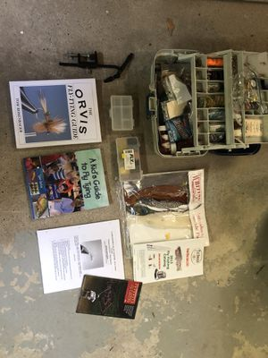 Fly fishing and fly tying equipment and supplies for Sale in Danbury, CT
