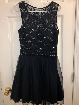 Navy Blue Sequined Dress (Medium) for Sale in San Francisco, CA