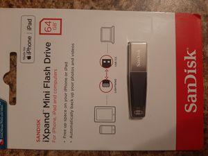 SanDisk iXpand Mini Flash Drive 64GB for Sale in Milton, FL
