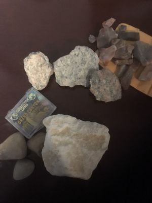 Lot of rocks crystals rough jasper gemstones from Colorado for Sale in San Diego, CA