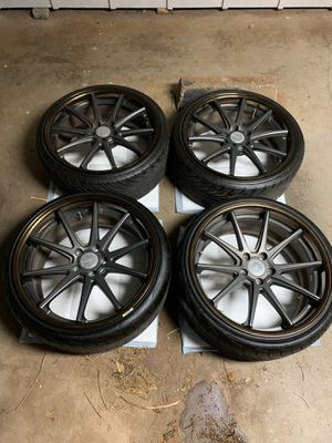 """$1,600 OBO . 20"""" WORK WHEELS! 5x114.3 staggered set for Sale in Mililani, HI"""