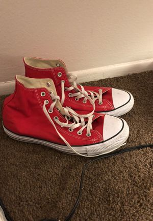 Red converse for Sale in Hamtramck, MI