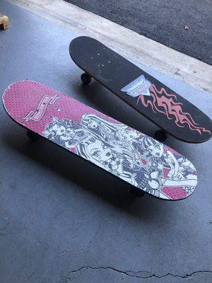 Monster high and Disney's cars skateboard for Sale in Fairfax Station, VA