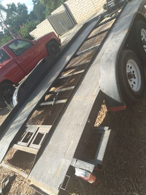 2016 Car /truck hauler , new winch with warranty for Sale in Jurupa Valley, CA