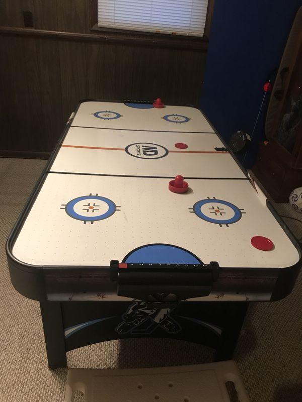 Air hockey/ping pong table