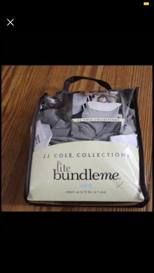 JJ Cole - Bundle Me Lite - Infant Car Seat Cover - Gray for Sale in Leesburg, VA