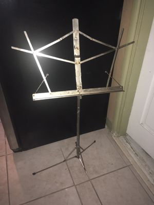 Foldable music stand. Belmonte for Sale in Fontana, CA
