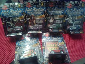 Collectible KISS Toy Cars Complete Set of 6 for Sale in Winter Park, FL
