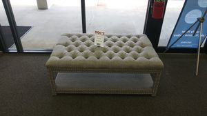 New Nailhead Ottoman for Sale in West Columbia, SC