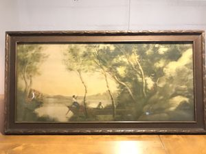 Vintage Framed Painting from NYC! for Sale in Traverse City, MI