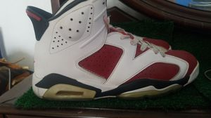 Jordan 6s carmine's size 12 for Sale in Los Angeles, CA