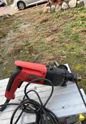 Milwaukee heavy duty hammer drill for Sale in Egg Harbor Township, NJ