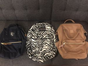 $15 each! Anello/ Jansport Backpack for Sale in Chelsea, MA