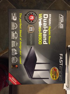 Asus dual band wireless n900 gigabit Router for Sale in Hammond, IN