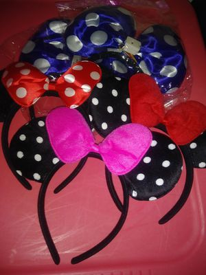 Minnie mouse ears for Sale in Belle Isle, FL