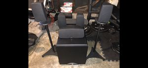 Klipsch Synergy Sub and 5 Quintet surround sound speakers - $50 for Sale in Daly City, CA
