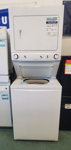White Frigidaire Washer and Dryer for Sale in Littleton, CO