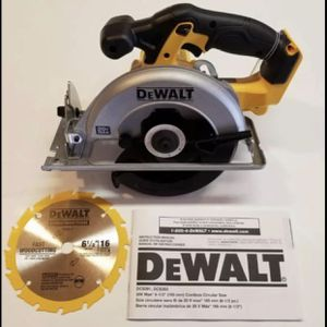 Dewalt 20V Cordless 6-1/2 in. Circular Saw. Tool-Only. $85 FIRM for Sale in Chicago, IL