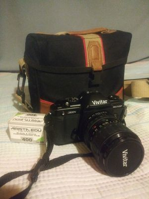 Vivitar V3800N 35mm SLR Camera w/ 28-70mm Lens for Sale in Huntington Park, CA