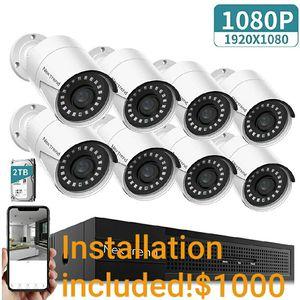 Security cameras systems installations 8 set- Hablo Espanol for Sale in Dallas, TX