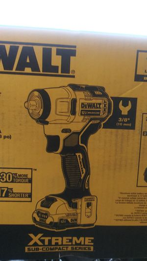 Dewalt Impact wrench kit for Sale in Houston, TX
