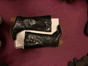 Coach tall leather boots. Size 7 for Sale in Los Angeles, CA