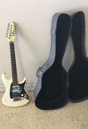 Electric Guitar with the case. for Sale in Fremont, CA