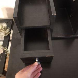 Dark Brown Desk for Sale in Chicago, IL