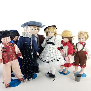 7 Vintage Collectible Dolls (1022508) for Sale in South San Francisco, CA