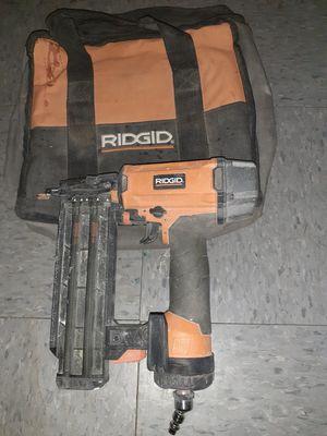RIDGID AIR NAIL GUN USADA COMO NUEVA for Sale in The Bronx, NY