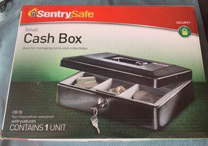 Sentry Safe Cash Box, Small, # CB-10 - New for Sale in Sacramento, CA