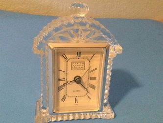 Crystal table clock, works well? for Sale in Vancouver,  WA
