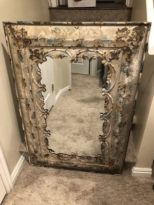 Amazing French Country Style Fleur De Lis Mirror!! for Sale in Sandy, UT