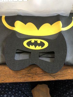 Batman mask and cape small child's costume new for Sale in Moneta, VA