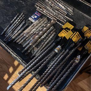SDX Hammer drill bits for Sale in Schaumburg, IL