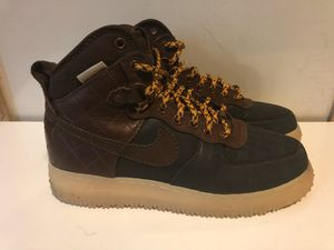 Extremely Rare Nike Air Force 1 Duckboot Original OG 3M 2013 444745 004 Field Brown. Size 8.5. for Sale in Suwanee, GA