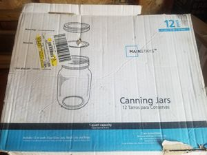 Mainstays Canning 12 pack jars for Sale in Aurora, CO